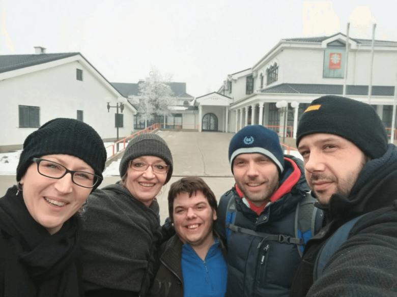 Posjet velikim i malim prijateljima u Brezovici